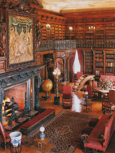 12 Private Libraries Stuff Rich People Love